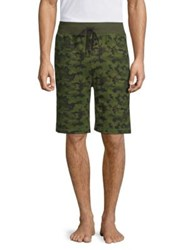 2Xist Terry Cargo Shorts Olive Camo