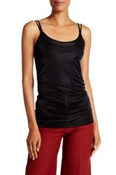 Helmut Lang Long Sheer Tank Black