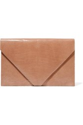 Hunting Season Envelope Lizard Clutch Sand