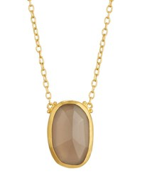 Gurhan One Of A Kind Reversible Moonstone Pendant Necklace