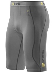Skins Men's A200 Compression Half Tights Grey