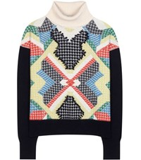 Barrie Cashmere Turtleneck Sweater Multicoloured