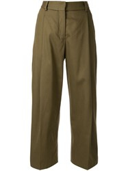 Margaret Howell Cropped Pleated Trousers 60