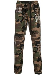 Haculla Mask Off Woven Joggers Green
