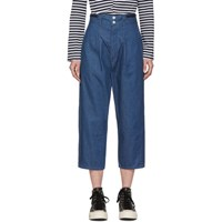 Chimala Indigo European Army Trousers