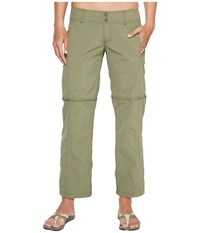 Exofficio Bugsaway Sol Cool Ampario Convertible Pants Bay Leaf Women's Casual Pants Brown