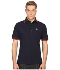 Vivienne Westwood Classic Pique Krall Polo Navy