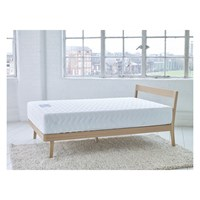 Habitat Tatsuma Tatsuma Ash Uk Kingsize Bed With Coen Pocket Sprung Mattress Natural