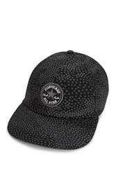 Converse Patterned Short Visor Cap Black Dot Camo