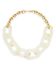 Kenneth Jay Lane Chain Link Necklace Gold