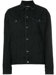 Filles A Papa California Denim Jacket Black