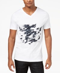 Inc International Concepts I.N.C. Men's Graphic Print T Shirt Created For Macy's White