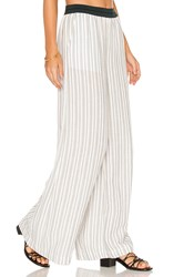 Free People Wide Leg Pull On Pant White