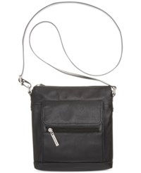 Giani Bernini Nappa Leather Venice Crossbody Black