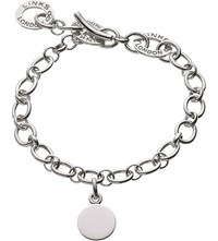 Links Of London Baby Disc Sterling Silver Charm Bracelet