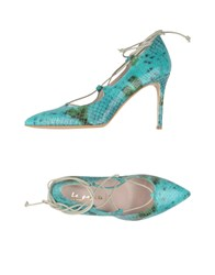 Le Pepite Footwear Courts Women Turquoise