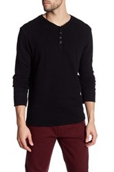Gilded Age Henley Sweater Black