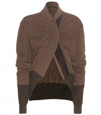 Haider Ackermann Cotton Jacket Brown