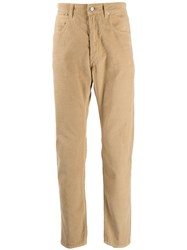 Golden Goose Regular Corduroy Trousers Brown