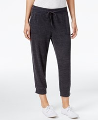 Styleandco. Style Co. Melange Jogger Pants Only At Macy's Deep Black