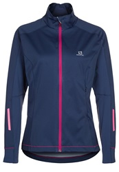 Salomon Equipe Soft Shell Jacket Abyss Blue