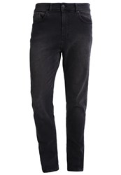 Kiomi Relaxed Fit Jeans Black Denim