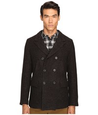 Billy Reid Bond Peacoat Brown Black