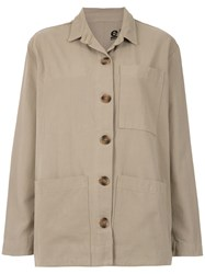 Osklen Overzised Shirt Neutrals