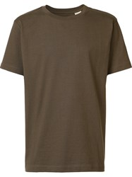 Levi's Made And Crafted Crew Neck T Shirt Green