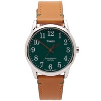 Timex X Horween Easy Reader 40Th Anniversary Special Green