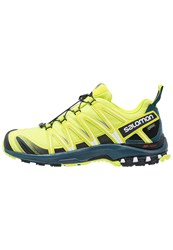 Salomon Xa Pro 3D Gtx Trail Running Shoes Lime Punch Black Reflecting Pond Light Green