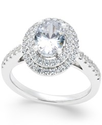 Macy's Certified Diamond Engagement Ring 1 1 2 Ct. T.W. In 18K White Gold