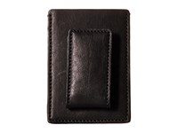 Bosca Washed Collection Deluxe Front Pocket Wallet Black Credit Card Wallet