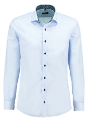 Eterna Slim Fit Formal Shirt Hellblau Light Blue