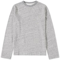 Officine Generale New Marl Crew Sweat Grey