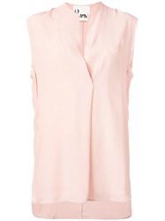 8Pm Sleeveless Shirt Pink Purple