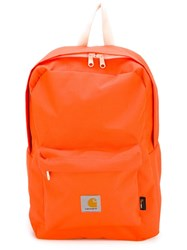 Carhartt 'Watch' Backpack Yellow And Orange