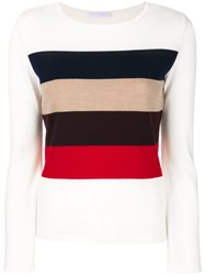 Societe Anonyme Horizon Striped Top Wool Nude Neutrals