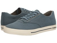 Seavees 08 63 Hermosa Plimsoll Standard Native Teal Men's Shoes Blue