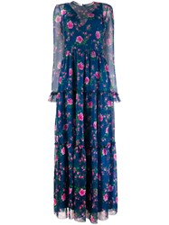 Philosophy Di Lorenzo Serafini Floral Print Long Dress 60
