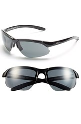 Women's Smith Optics 'Parallel D Max' 65Mm Polarized Sunglasses Black Polar Grey Clear