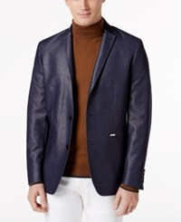 Inc International Concepts Men's Aaron Slim Fit Blazer Only At Macy's Navy