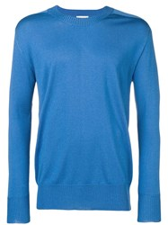 Laneus Slim Jumper Blue