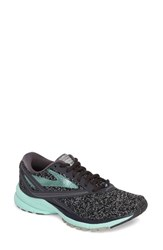 Brooks Women's Launch 4 Running Shoe Anthracite Glass Silver