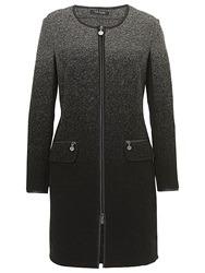 Betty Barclay Wool Coat Black Grey