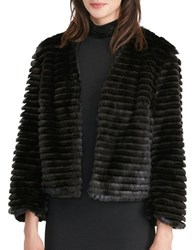 Lauren Ralph Lauren Faux Fur Jacket Black