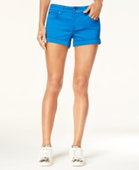 Celebrity Pink Juniors' 3 Cuffed Colored Shorts Turkish Sea