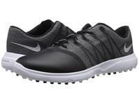 Nike Lunar Empress 2 Black Metallic Silver White Women's Golf Shoes