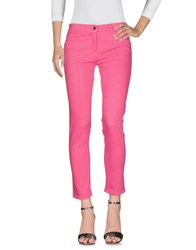Via Delle Perle Vdp Collection Jeans Pink