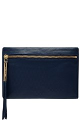Elizabeth And James 'Scott' Tasseled Leather Clutch